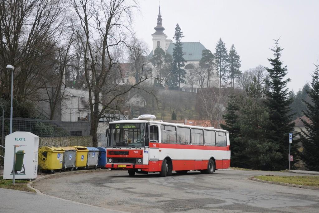 Fotogalerie » Karosa B732.1654 BSC 35-03 7366 | Vranov | Kateřinská | Vranov, smyčka