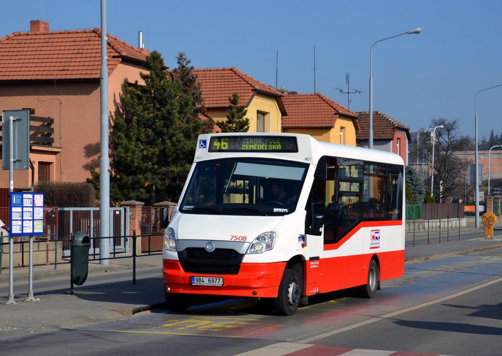 Fotogalerie » SKD Stratos LF38 D 9B4 6977 7508 | Brno | Černá Pole | Merhautova | Štefánikova čtvrť