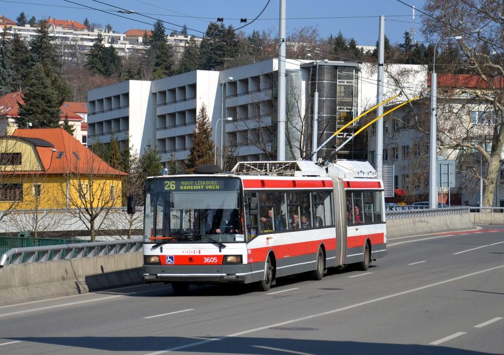 Fotogalerie » Škoda 22Tr 3605 | Brno | Pisárky | Pisárecká