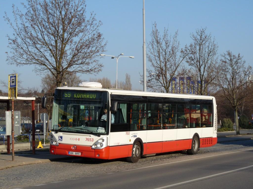 Fotogalerie » Irisbus Citelis 12M 6B6 6855 7653 | Brno | Brněnské Ivanovice | Kaštanová | Ráječek