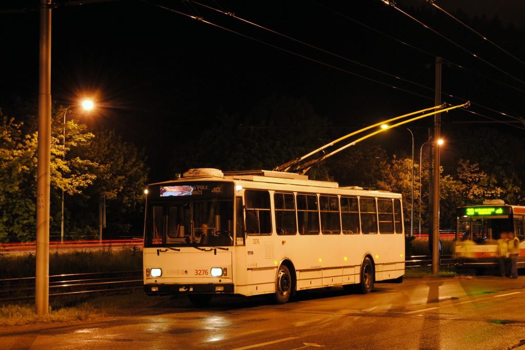 Fotogalerie » Škoda 14TrR 3276 | Brno | Komín | Bystrcká