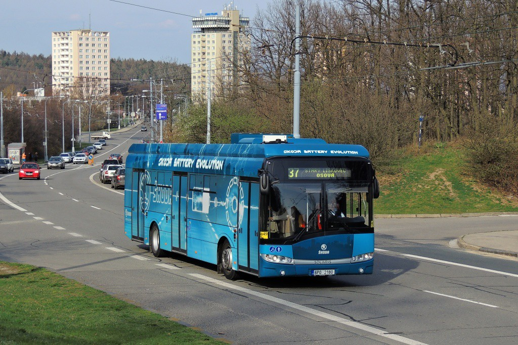 Fotogalerie » Škoda 26BB Perun 6P0 2180   Brno   Kohoutovice   Libušina třída
