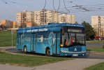 V roce 2014 byl v Brně testován elektrobus Škoda 26BB HE Perun