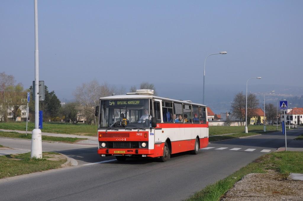 Fotogalerie » Karosa B731.1669 BSC 69-00 7412 | Brno | Bystrc | Páteřní | Kubíčkova