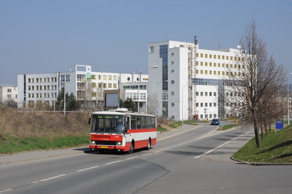 Fotogalerie » Karosa B731.1669 BSC 69-03 7415 | Brno | Královo Pole | Kolejní | Edisonova
