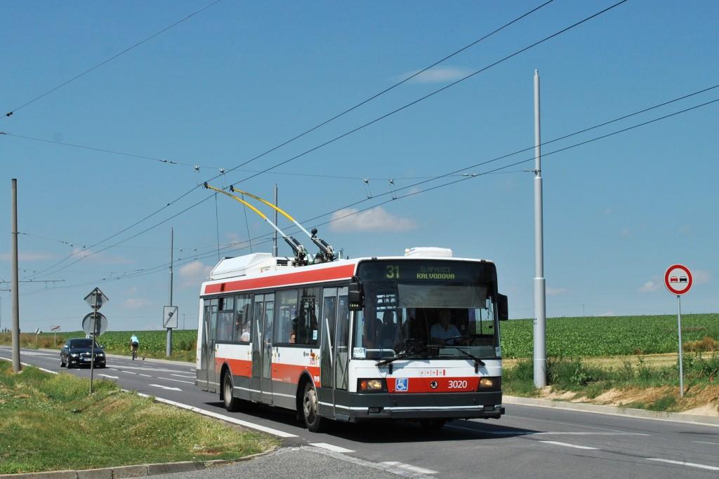 Fotogalerie » Škoda 21Tr 3020 | Šlapanice | Brněnská