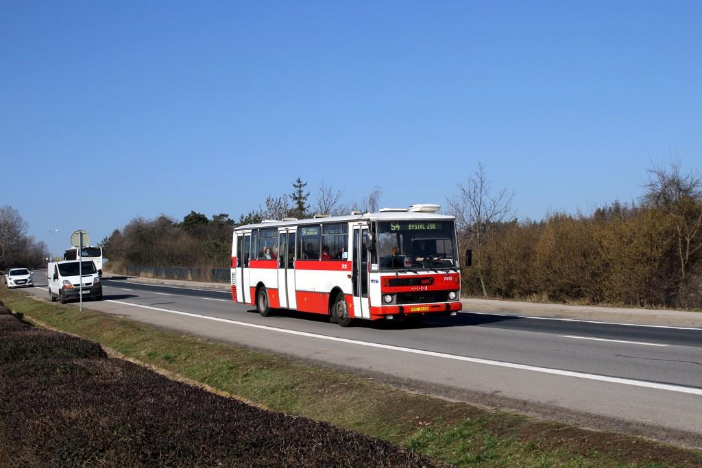 Fotogalerie » Karosa B731.1669 BSC 69-08 7410 | Brno | Bystrc | Vejrostova
