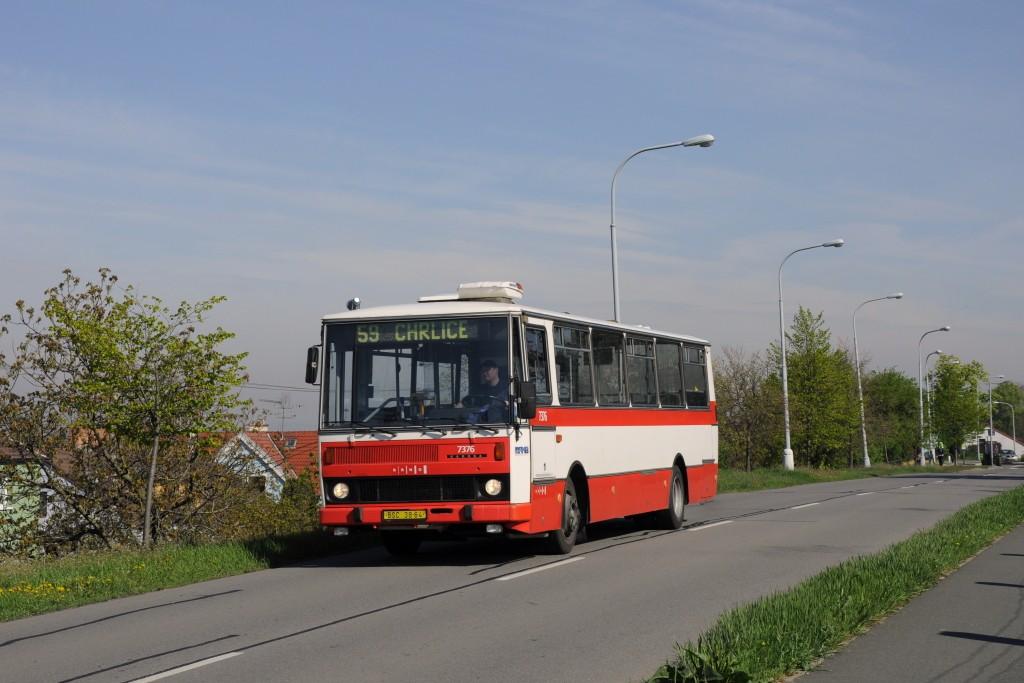 Fotogalerie » Karosa B732.1654.3 BSC 38-64 7376 | Brno | Chrlice | Rebešovická