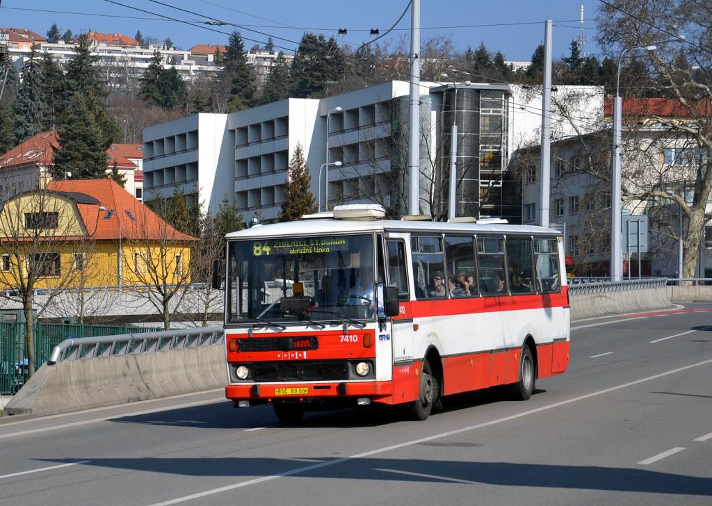 Fotogalerie » Karosa B731.1669 BSC 69-08 7410 | Brno | Pisárky | Pisárecká