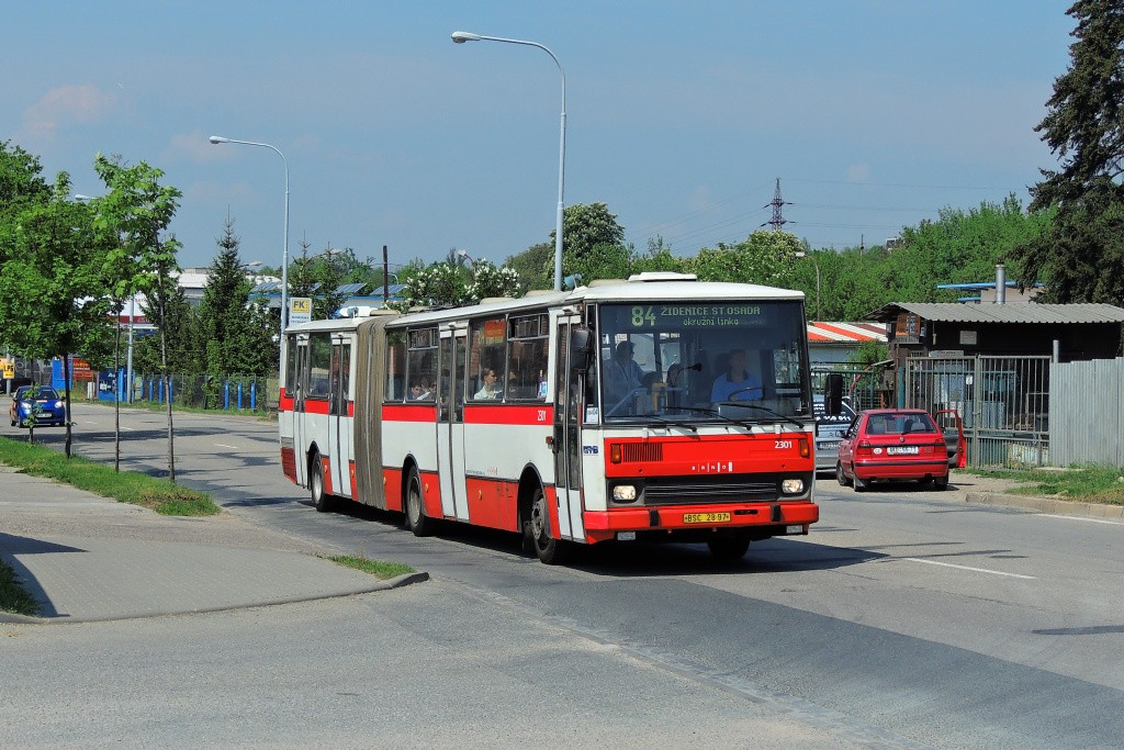 Fotogalerie » Karosa B741.1916 BSC 28-97 2301 | Brno | Královo Pole | Křižíkova