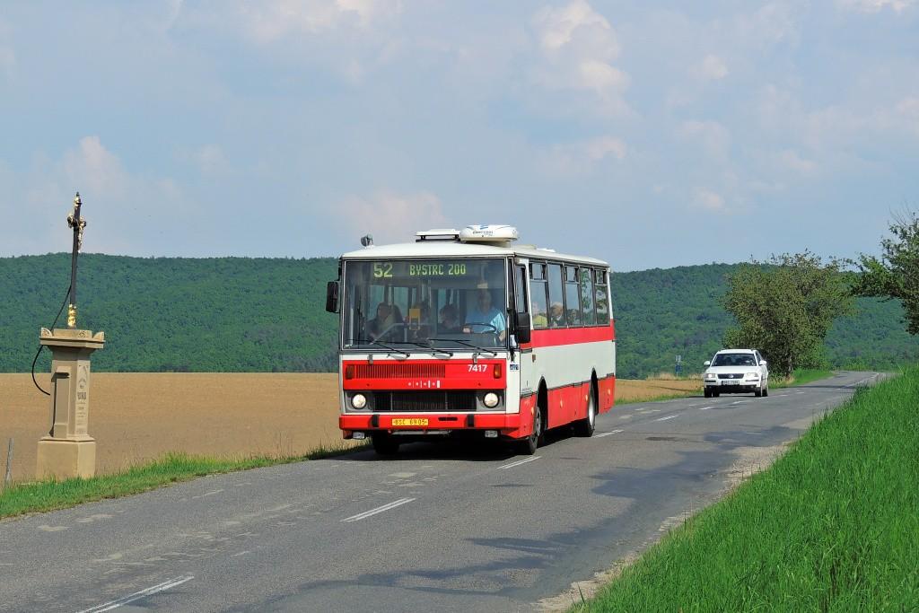 Fotogalerie » Karosa B731.1669 BSC 69-05 7417 | Brno | Kohoutovická